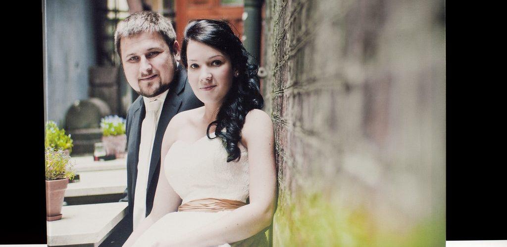 zdjęcia ślubne na płótnie